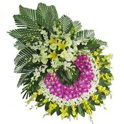 Vòng hoa chia buồn CB04