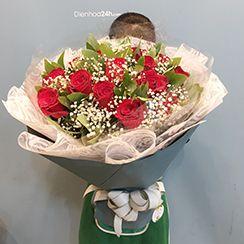 Bó hoa hồng đẹp HB259