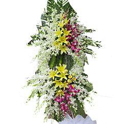 Hoa chia buồn, hoa đám tang CB42