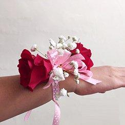 Hoa đeo tay 09