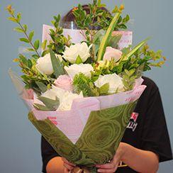 Bó hoa hồng HB213