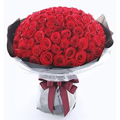 Bó hoa hồng đỏ HB596