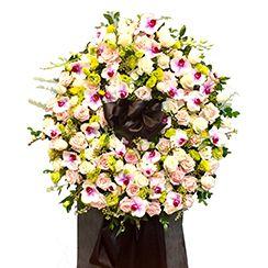 Vòng hoa chia buồn, vonghoachiabuon