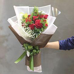 Bó hoa hồng đỏ HB480