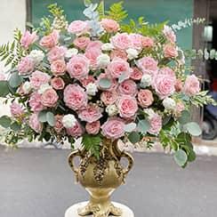 Bình hoa sinh nhật vip G624