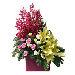 Những lẵng hoa tươi đẹp nhất G421